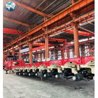 Buy cheap 8 lines 16 axles 12 line 24 axle hydraulic steering modular lowbed semi truck trailer from wholesalers