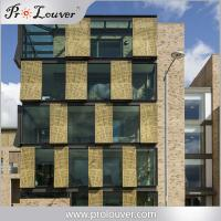 Buy cheap aluminum perforated wall cladding panel,exterior wall, aluminum facades from wholesalers