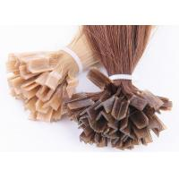 Buy cheap Natural Luster 1g Pre Bonded Hair Extensions , I Tip Fusion Hair Extensions product