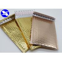 Buy cheap Recyclable Colored Bubble Wrap Envelopes , Metallic Foil Bubble Bags 8*9 Inch from wholesalers