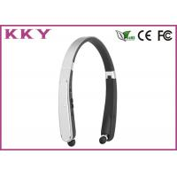 Buy cheap Foldable Neckband Bluetooth Headphone CSR CVC Noise Reduction Headphone for Mobile Phone from wholesalers