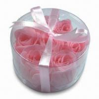 Buy cheap Bath Confetti Noodle/Soap Flower, Available in Various Scents and Colors from wholesalers