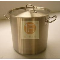 Buy cheap large stainless steel stock pots from wholesalers