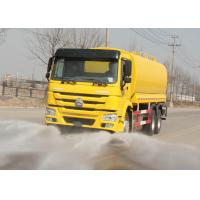 Buy cheap Internal Anti - Corrosion Water Tank Truck , Water Transport Trucks 21-25CBM from wholesalers