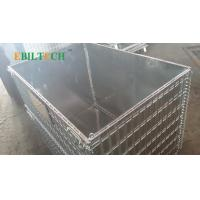 Buy cheap Collapsible Pallet Rack Wire Decking , Wire Mesh Cage  Improve Warehouse Efficiently from wholesalers