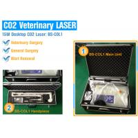 Buy cheap 15 Watt Portable CO2 Surgical Laser Equipment For Hospital / Clinic With Safety Protection from wholesalers