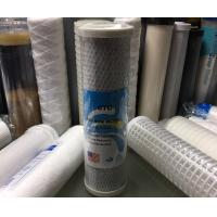 Buy cheap 10 1 Micron Drinking Water Filter Cartridges with CTO Activated Carbon / Coconut Carbon Block from wholesalers