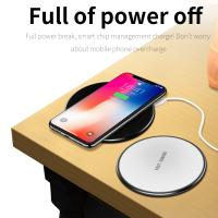Buy cheap QI Wireless Fast Charger Phone Pad Plate For iPhone X 8 Plus Samsung S9 S8 from wholesalers