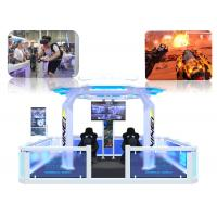 Buy cheap 5 / 3 Players Virtual Reality Theme Park Easy Operating 9D VR Simulator from wholesalers