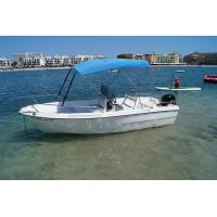 Double Seats Fiberglass Fishing Boats 1.9m Width 6 Person ...