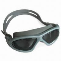 Buy cheap Professional Anti-fog Swimming Goggles with Ultra-durable PC Lens and Spray Painting Frame Available from wholesalers