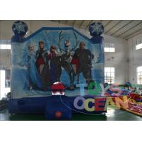 Buy cheap 13ft Frozen Jumping Moonwalk Inflatable Bounce House For Backyard Party For Girl from wholesalers