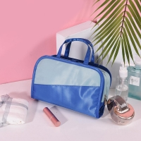 Buy cheap Personalised Portable Makeup Bag Waterproof PU Cosmetic Tote Bag from wholesalers