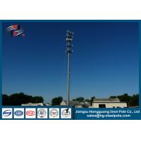 Buy cheap Powder Coated Galvanized 3G Telecommunication Towers For Cell Phone Signal from wholesalers