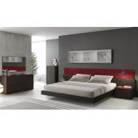 Buy cheap E1 Panel High Gloss And Melamine Bedroom Furniture Long Headboard from wholesalers