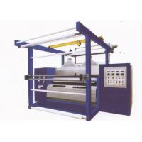 Buy cheap Double roller natural luster fabric rolling machine for polishing of fabrics from wholesalers