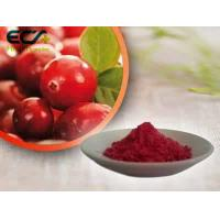 Buy cheap Beauty Effect Organic Food Ingredients Red Fine Oxycoccos Cranberry Extract Powder from wholesalers