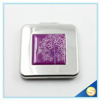 Buy cheap Fancy Metal Square Pocket Makeup Mirror for Promotion Gift from wholesalers