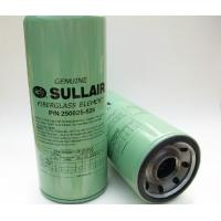 Buy cheap Sullair screw compressor oil filter element 250025-525 from wholesalers
