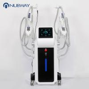 China Magic cryo cavitation rf vacuum fat weight loss 4 handles  to men slimming body shaper device on sale