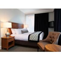 Buy cheap Classic 3 Star Modern Hotel Bedroom Furniture / Budget Hotel Furniture from wholesalers
