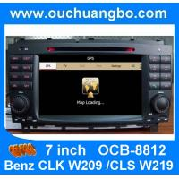 Buy cheap Car audio for Mercedes Benz CLK W209 /Benz CLS W219 body kit with iPod RDS radio mp3 player OCB-8812 from wholesalers