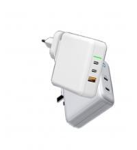 Buy cheap Laptop Phone White 61 Watt Mini Travel GAN Charger from wholesalers