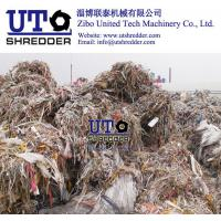 Buy cheap two engines shredder/ plastic shredder/ ragger wire recycling equiments / pulp paper factory / waste plastic scrap crush from wholesalers