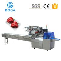 Buy cheap Reciprocating Flow Packing Machine with tray holder packing Gusset outlook bread packaging 600W from wholesalers