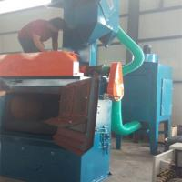 Buy cheap Belt Type Steel Shot Blasting Machine Metal Cleaning Customized Design from wholesalers