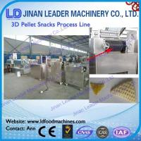 Buy cheap Easy operation corn flour 2D 3D snacks pellets food making machine from wholesalers