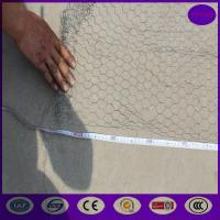 Buy cheap Galvanized before weaving Garden Chicken wire fence rust prevention from wholesalers