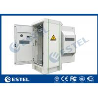 Buy cheap Front / Rear Door Outdoor Telecom Cabinet IP55 Anti Corrosion Powder Coating 32U from wholesalers