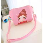 Buy cheap Fashion Women print Tote Bag PU Leather Handbag handmade from wholesalers