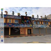 Buy cheap Visual Feast 9D Immersive Theater 9D Cinema With Electric , Pneumatic , Hydraulic System product
