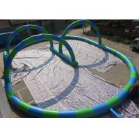 Buy cheap EN14960 Inflatable Bearing Sliding Human Zorb Ball Track For Sports Games from wholesalers