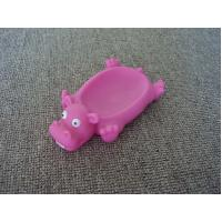 Buy cheap Vinyl Hippo Rubber Bath Toys Plastic Soap Holder / Dish For Bathroom Decoration from wholesalers