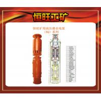 Buy cheap Mine high-voltage submersible pumps from wholesalers