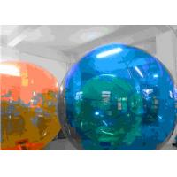 Buy cheap Orange color 2M diameter Inflatable Water Walking Ball, Zorb Water Roller for Kids Playing from wholesalers