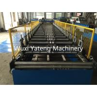 Buy cheap Iron Metal Roof Panel Roll Forming Machine Standing Seam Roll Former With Manual / Hydraulic Uncoiler from wholesalers