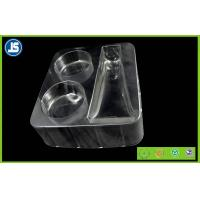 Buy cheap PET Transparent Plastic Cosmetic Trays With Stamping , Printing , Embossing from wholesalers