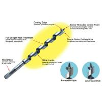 Buy cheap 6mm - 40mm Customized Auger Drill Bit For Large Section Beams / Joints from wholesalers