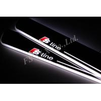 Buy cheap newest 2015 flashing LED moving door scuff light for audi A7 led door sills from wholesalers