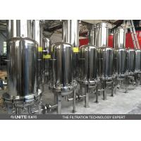 Buy cheap Stainless steel housing filter for water treatment precision water filter housing from wholesalers