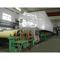 Buy cheap Model 1092 5-6t/d  corrugated paper  machine,1880mm kraft paper making machinery from wholesalers