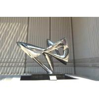 Buy cheap Outdoor Abstract Metal Sculptures Polished Mirror Color 3.5 Meter Length from wholesalers