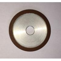 Buy cheap Flat Resin Bonded Diamond Grinding Wheels Grit Abrasive For Crank Shaft Magnetic from wholesalers