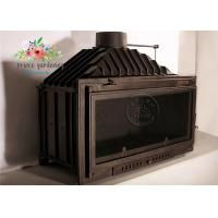 Buy cheap Modern Cast Iron Fireplace Surround / Freestanding Fireplace Insert from wholesalers