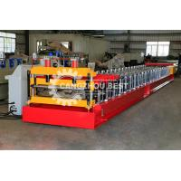 Buy cheap Customized Sheet Metal Floor Deck Roll Forming Machine Controled By PLC System from wholesalers