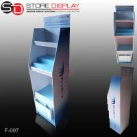 Buy cheap PDQ floor display stand with shelves for promotion from wholesalers